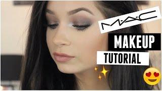 one brand makeup tutorial mac cosmetics grunge fall look   tori sterling