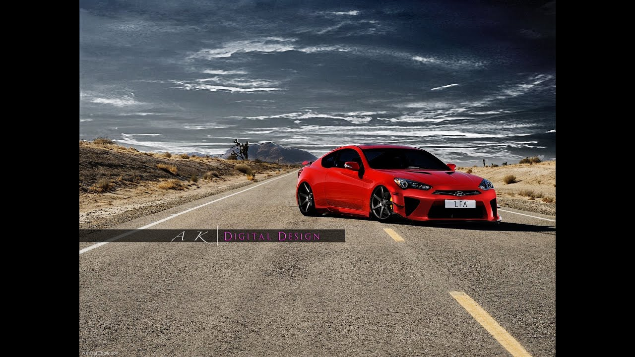 2013 hyundai genesis coupe virtual tuning youtube. Black Bedroom Furniture Sets. Home Design Ideas