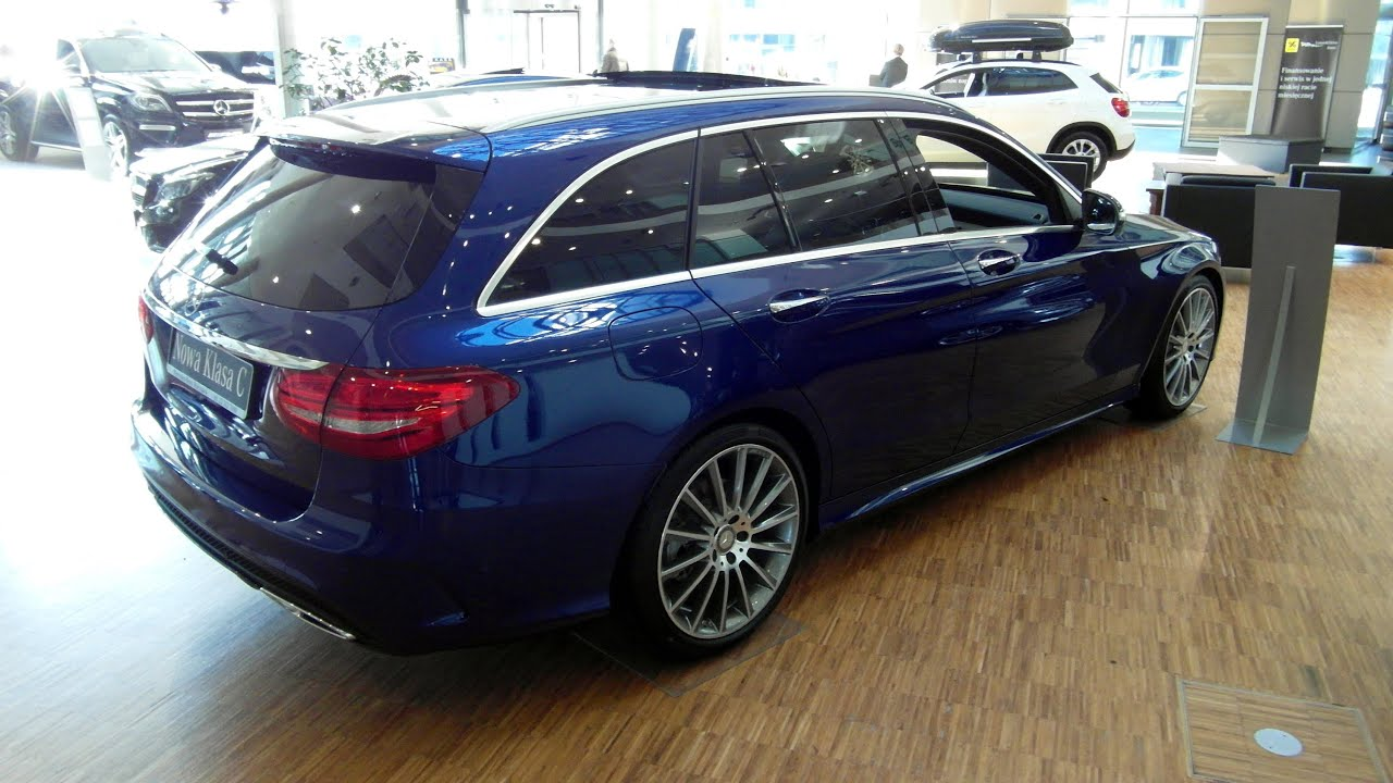 2015 Mercedes C Class W205 Amg Wagon Estate Bluetec 100k