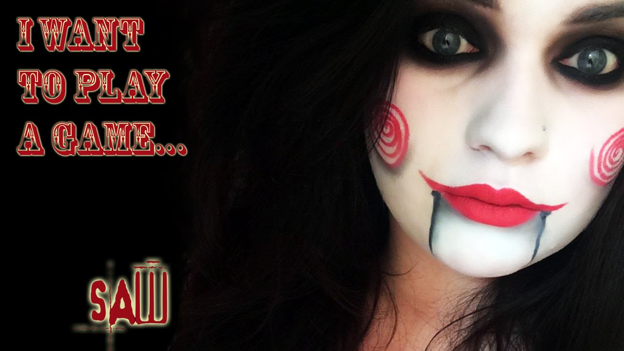 JIGSAW (Saw Movie) - Halloween Makeup Tutorial | Natalie Fox ...