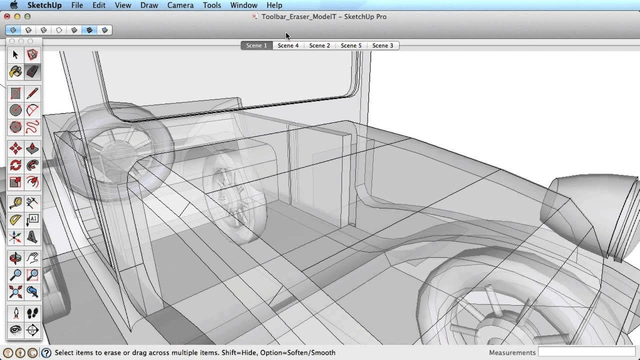 How To Hide Intersection Lines Pro Sketchup Community