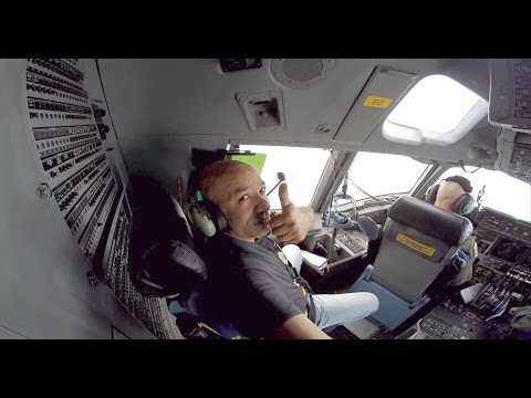 C-17 cockpit action with the GoPro Hero3