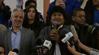 Evo Morales dice haber ganado las elecciones en Bolivia pero la oposición le acusa de manipulación