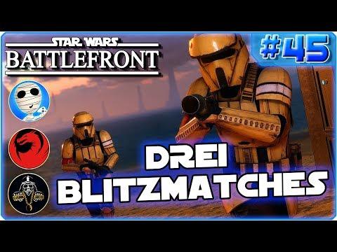 Drei Blitzmatches am Strand - Drachenbursche Darkside Tombie - Star Wars Battlefront #45 HD deutsch