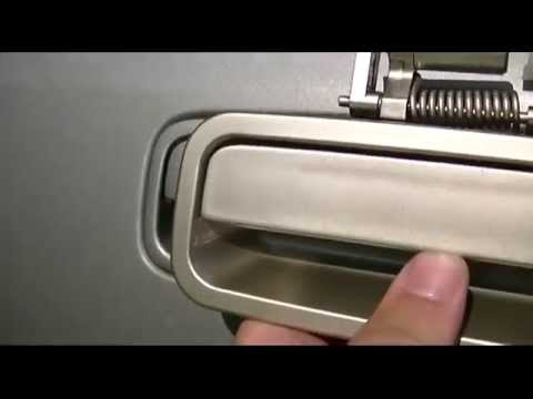 2000 Toyota Camry Door Handle Replacement - YouTube