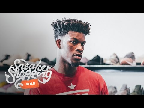 Jimmy Butler Goes Sneaker Shopping with Complex