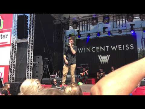 Wincent Weiss & Band - Proberaum Medley - Live @Bad Vilbel 2017