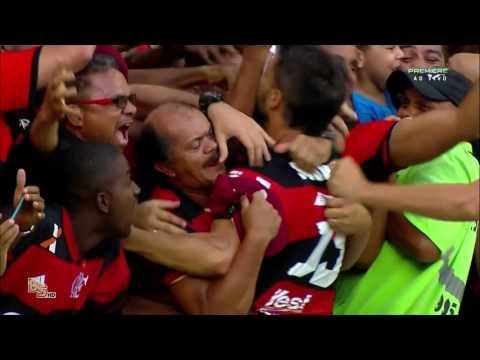 Gols - Flamengo 2 x 0 Santos - Brasileirão 2016