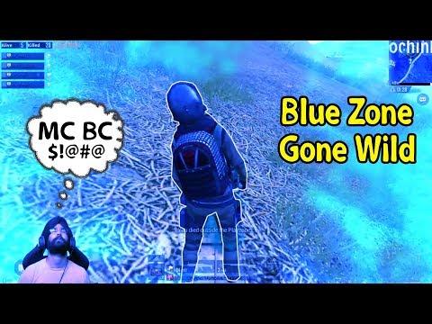 Aggressive Blue Zone - PUBG Mobile