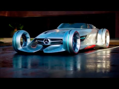 Mercedes benz silver lightning | Mercedes silver lightning | Mercedes-Benz Silver Arrow Concept