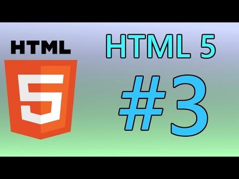 HTML5 Tutorial 3 - Attributes & Links
