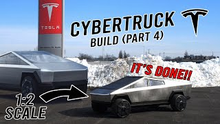 CYBERTRUCK BUILD! (Part 4/4: It's done!)