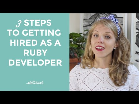 3 Steps to Getting Hired as a Ruby Developer