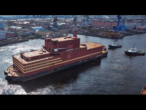 BREAKTHROUGH: Floating Russian Nuclear Plants Deliver Energy to Indian Subcontinent