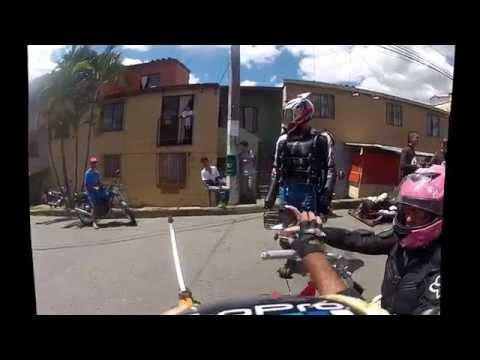 Fiestas barrio el mirador Bello, Antioquia, Colombia.  Video  #  2  -  2014