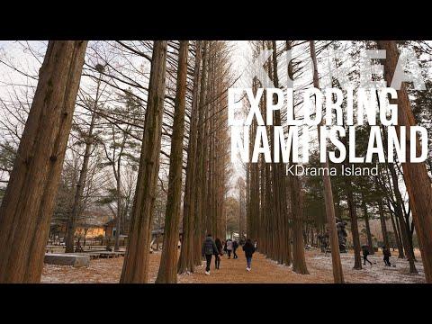 Nami Island   South Korea   K Drama Island