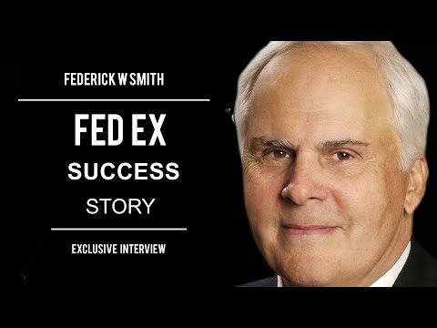 Exclusive Interview with Frederick W.Smith-Founder FedEx