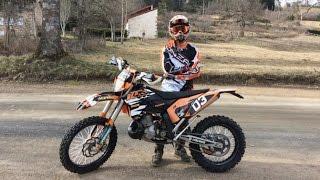 J'AI UNE NOUVELLE MOTO ! KTM 250 EXC 2009
