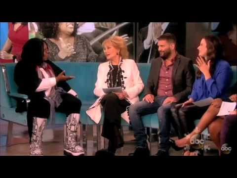 Katie Lowes and Guillermo Diaz on The View 12213