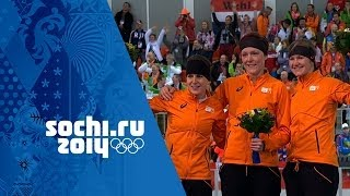 Speed Skating - Ladies' 1500m - Jorien Ter Mors Wins Gold | Sochi 2014 Winter Olympics