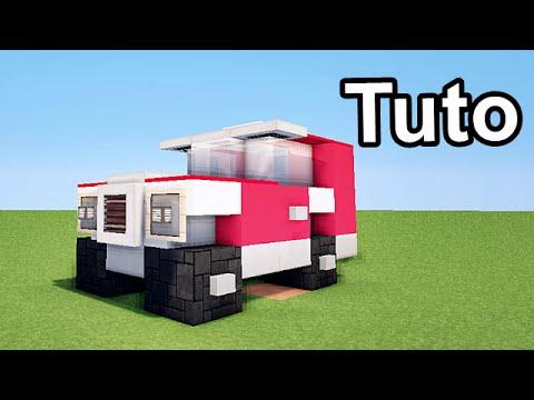 minecraft tuto 10 voitures monster truck 4x4 voitures. Black Bedroom Furniture Sets. Home Design Ideas