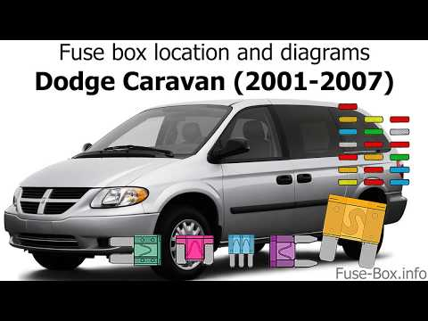 Fuse box location and diagrams: Dodge Caravan (2001-2007) - YouTubeYouTube