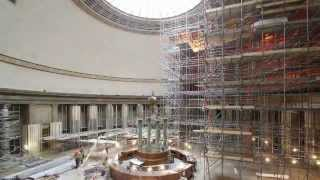 Manchester Central Library Scaffolding 2010
