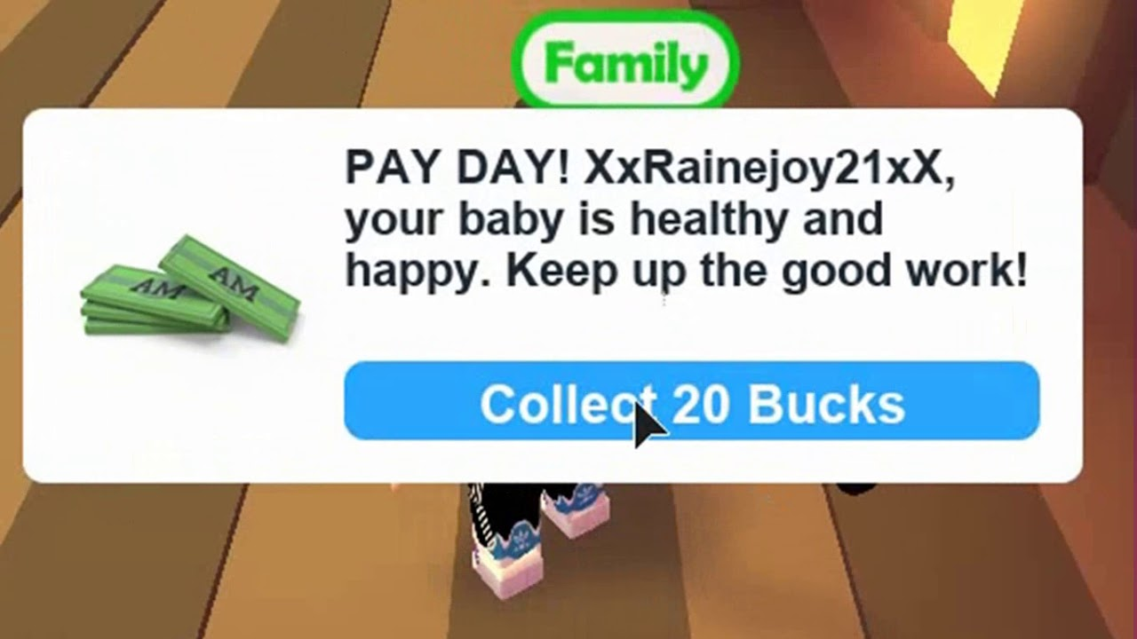How To Get Alot Of Bucks Fast In Adopt Me Roblox 2017 Youtube