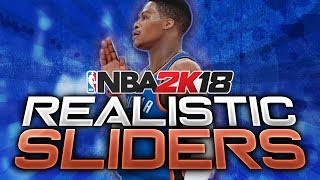 NBA 2K18: Realistic Slider Set | Race To The Playoffs Edition