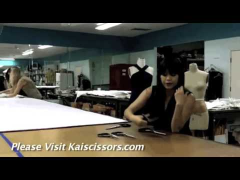 Using Kai Scissors - Chloe Dao