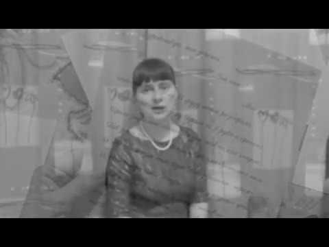 Изображение предпросмотра прочтения – АнастасияДронченко читает произведение «Она сидела наполу…» Ф.И.Тютчева