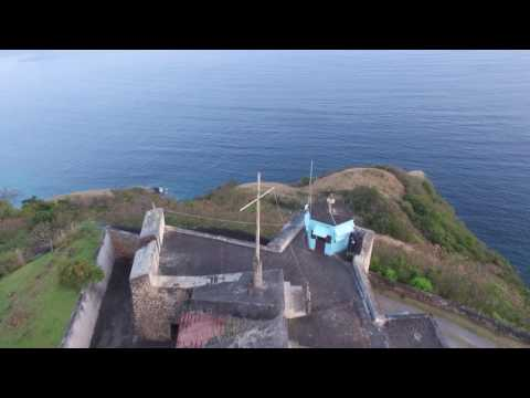 Arial View of Fort Charlotte St. Vincent