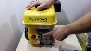 Подробный видео обзор Бензинового двигателя Sadko GE 200 PRO