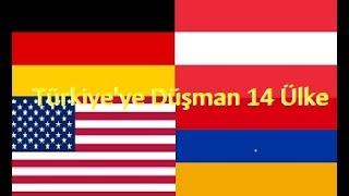 Türkiye'ye Düşman 14 Ülke