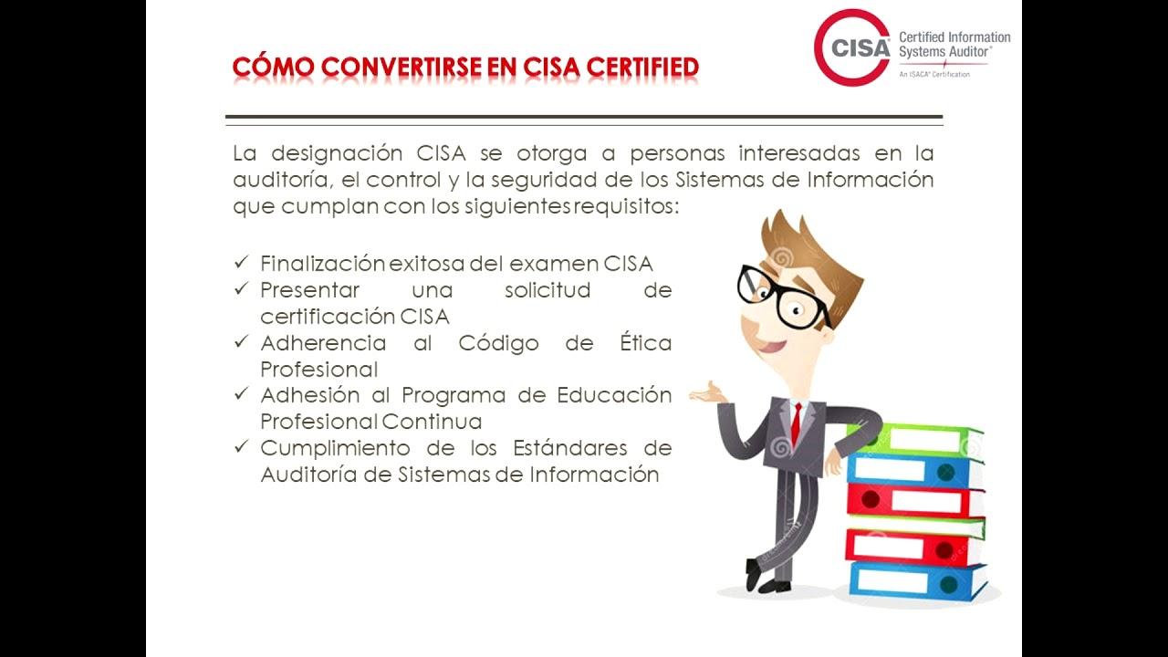 Isaca Y Sus Certificaciones Youtube