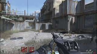 "Call of Duty 4: Modern Warfare Zombies - Walkthrough #1 ""Backlot Tag der Toten"" (PC MOD)"