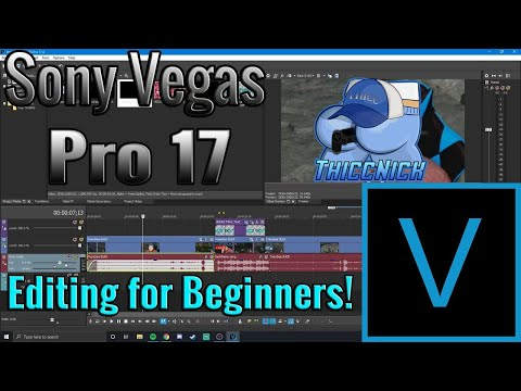 Vegas Pro 17 Tutorial | Editing for Beginners!