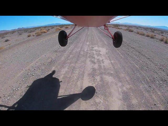 Amboy, CA Dirt Airstrip 1 March 2021