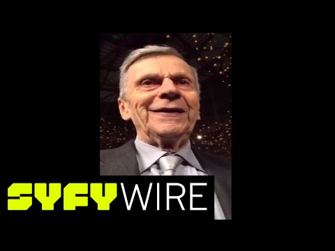 The XFiles William B. Davis Talks about Cigarette Smoking Man  Celebrity   SYFY WIRE