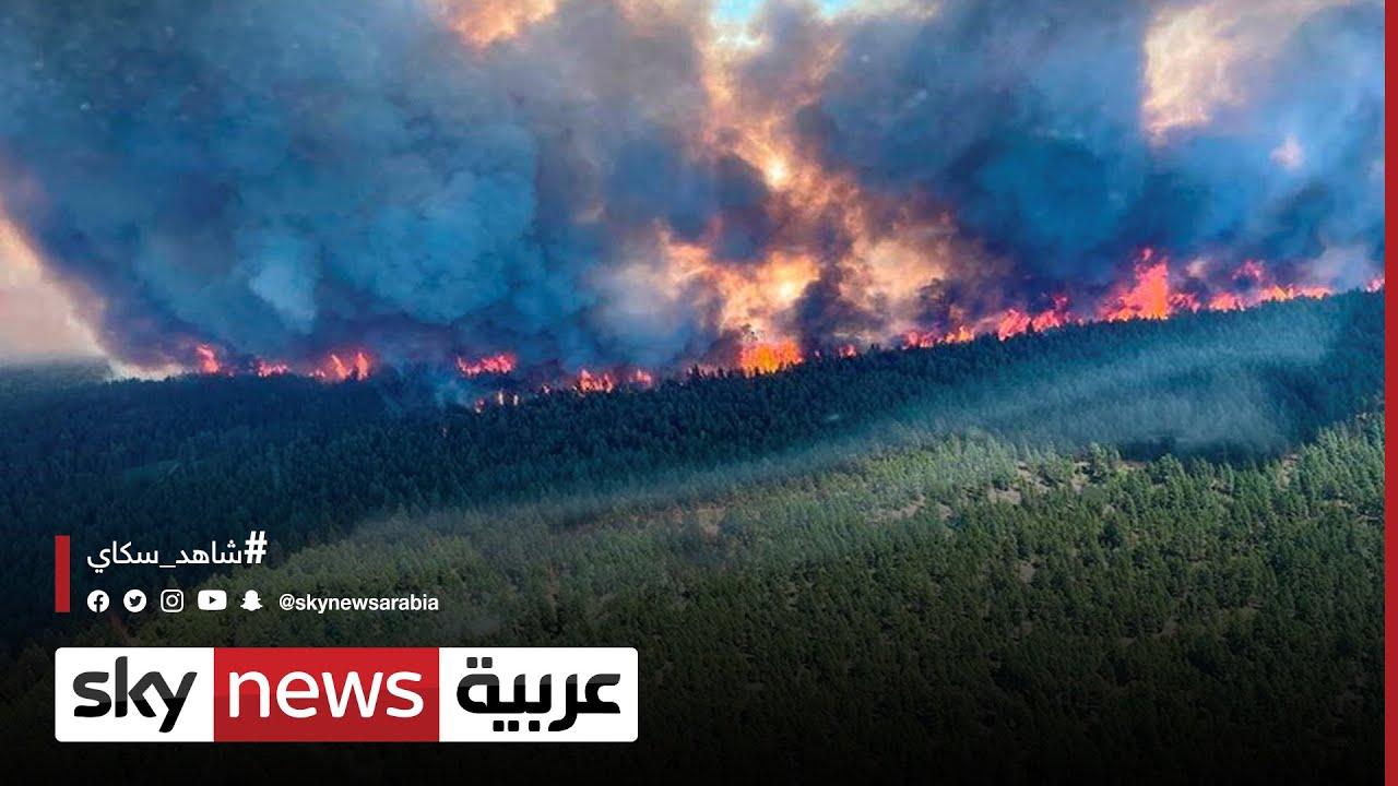 الولايات المتحدة: حرائق غابات في مناطق على الساحل الغربي بسبب الحر الشديد | #مراسلو_سكاي  - نشر قبل 19 دقيقة