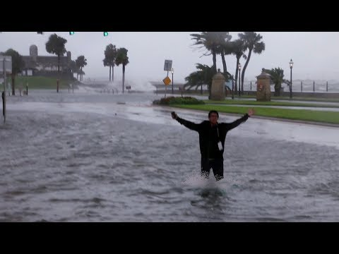 Live Footage of Downtown St. Augustine Flooding - Hurricane Irma | St. Johns County (NEW UPDATE)