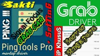 #Grab #Grabcar #Driver  Cara Setting Pingtools Pro || Penguat Signal || Ping Server iP Grab Langsung