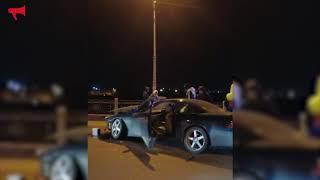 Массовая авария на мосту Пушкина в Уссурийске