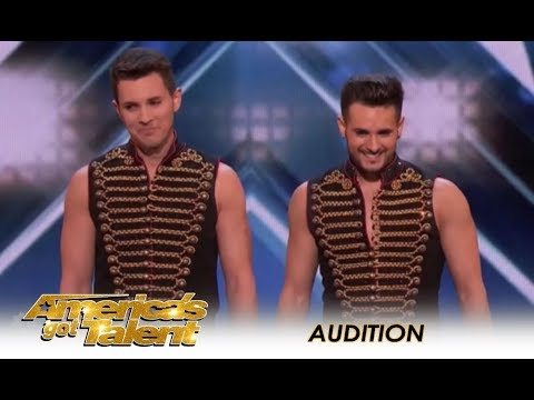 Rossi Brothers: Danger Circus Act With a SHOCKING Turn Of Events!    America's Got Talent 2018