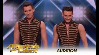 Rossi Brothers: Danger Circus Act With a SHOCKING Turn Of Events!  | America's Got Talent 2018