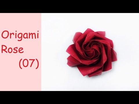 Origami Rose (07)   DIY Paper Crafts   DIY Handmade