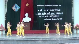 Múa Một thoáng Chăm   Chuyên Văn 2013 2016   Chào mừng ngày Nhà Giáo Việt Nam 20 11 2013