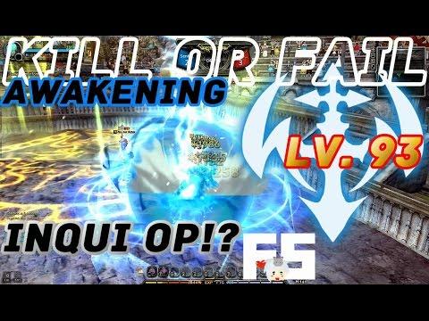 Dragon Nest PvP : Inquisitor OP!? Awakening KOF Lv. 93 KDN Spec Mode.