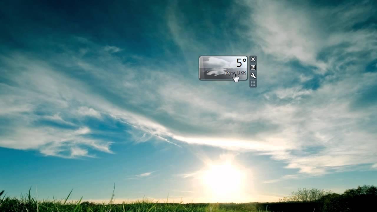 Msn Weather - Windows Weather Gadget