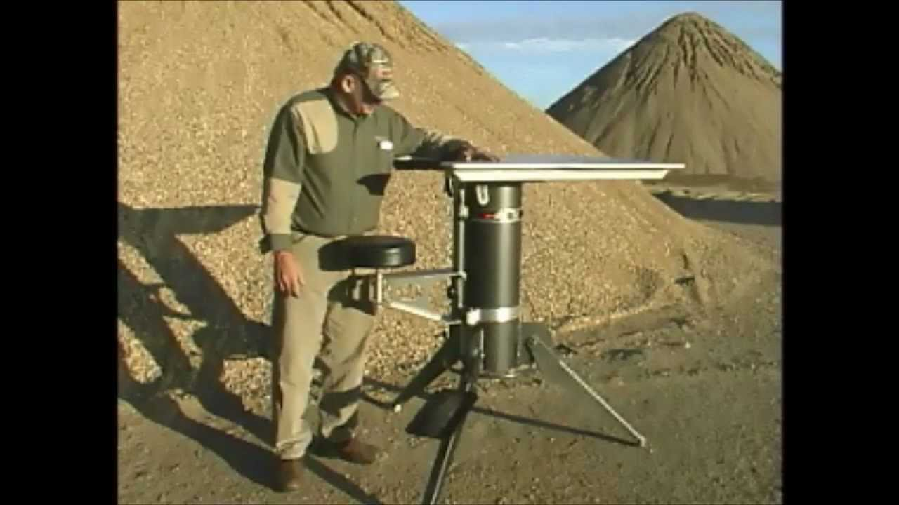 Model 2500 Portable Shooting Table from Target Shooting, Inc. - YouTube